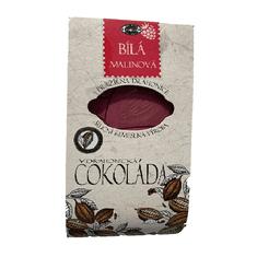Pražírna Drahonice Bílá čokoláda malinová