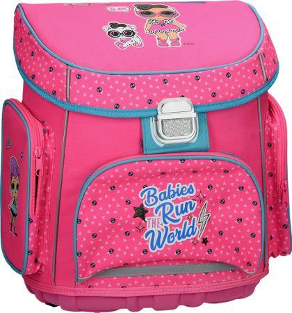 L.O.L. Surprise! šolska torba, ABC, roza