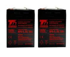 T6 power APC KIT RBC1 - baterie T6 Power
