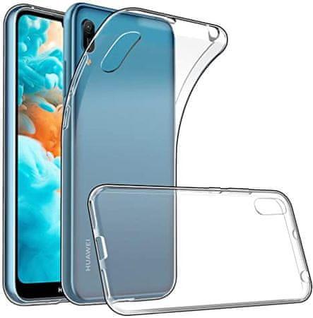 Clear Case ovitek za Huawei Y6/Honor 8A, silikonski, prozoren