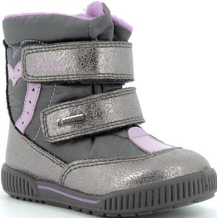 Primigi dekliška zimska obutev 6361911, 25, sivi