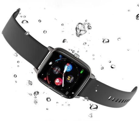 Dámske chytré hodinky Carneo Soniq+ woman, farebný OLED displej, výdrž jeden týždeň