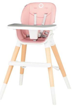 Lionelo krzesełko do karmienia Mona, Bubblegum