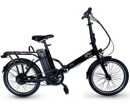 Trevi Speedy električno kolo, zložljivo, 6 Ah, črno