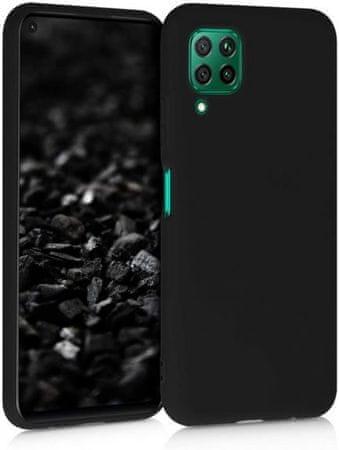 Ovitek za Huawei Y6p, silikonski, mat črn