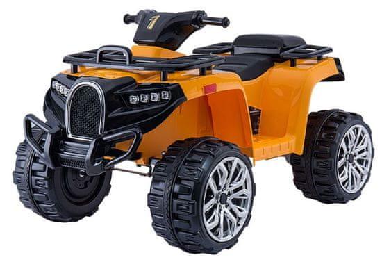 Beneo Elektrická štvorkolka ALLROAD 12V, mäkké EVA kolesá, LED svetlá, MP3 prehrávač so vstupom