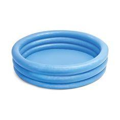 Nafukovací bazénik crystal - modrý - 147 x 33 cm