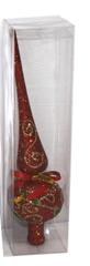 DUE ESSE ozdoba świąteczna 24 cm, czerwony
