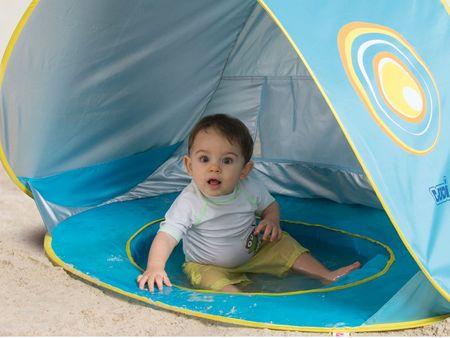 Ludi Sátor medencével anti-UV baba számára