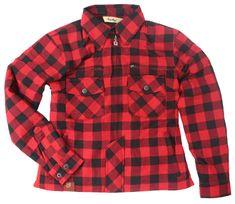Rusty Pistons dámska kevlarová košela Rixby red/black
