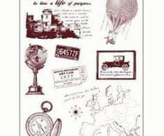 SMT Creatoys Cestování po evropě - silikonová gelová razítka (8ks)