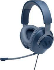 JBL Quantum 100, modrá (JBLQUANTUM100BLU)