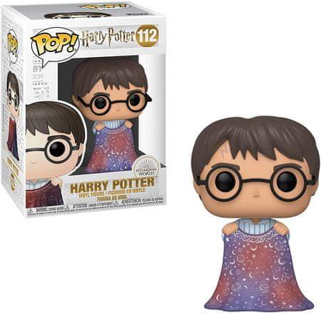 Funko POP! Harry Potter figurica, Harry Potter w/ Invisibility Cloak #112