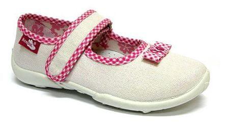 Ren But Lány vászoncipő 33-415_S-0720, 34, fehér