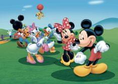 AG design fototapeta Mickey Mouse pleše s prijateljima, 156 x 112 cm, 4 komada