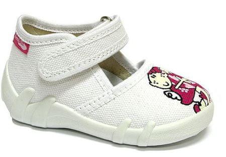 Ren But papuče za djevojčice 13-105_P-0617, 19, bijele