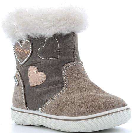 Primigi dekliška zimska obutev 6359411, 20, rjavi