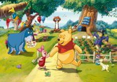 AG design fototapeta Pooh s prijateljima na zabavi, 255 x 180 cm, 2 komada