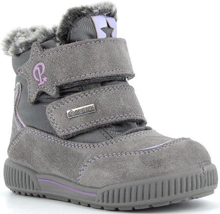 Primigi dziewczęce buty zimowe 6361422 20, szare