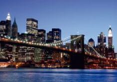 AG design fototapeta Brooklynski most na zalasku sunca, 360 x 254 cm