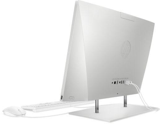 Domácí i kancelářský počítač HP 24-dp0004nc AiO (25N60EA) HD webkamera, kvalitní zvuk, multimédia