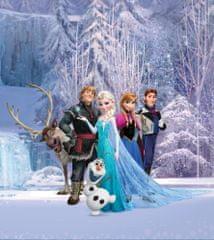 AG design fototapeta Likovi Frozen u čarobnoj šumi, 180 x 202 cm