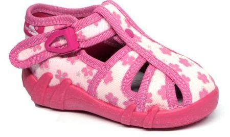 Ren But 13-106LP-1158 dekliški platneni čevlji, roza, 21