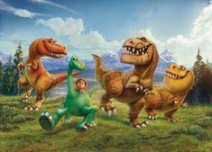 AG design Fototapeta Dinosauři 160 x 110 cm