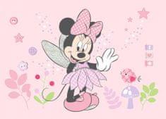 AG design Fototapeta Myszka Minnie i Dejzi w magicznych kolorach 160 x 110 cm