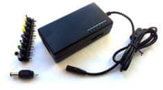 Eurocase Napájecí adaptér univerzální 96W, AC 110-240V, DC 12-24V, manual, 9 koncovek