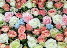AG design Fototapeta Koberec ruží 160 x 110 cm