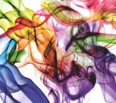 AG design Fototapeta Rôznofarebný dym 160 x 110 cm