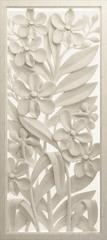 AG design fototapeta 3D cvjetni reljef, 90 x 202 cm