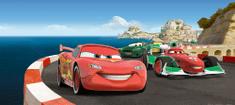 AG design fototapeta Race Cars na planinskoj cesti, 202 x 90 cm