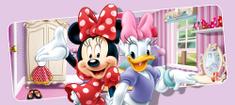 AG design fototapeta Minnie Mouse i Daisy u čarobnim bojama, 202 x 90 cm