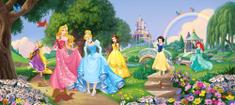 AG design fototapeta Disney princeze u parku, 202 x 90 cm