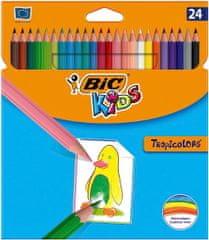 Bic Pastelky TROPICOLORS 24ks