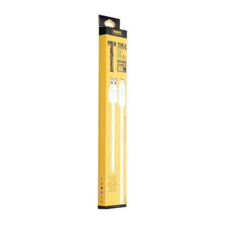 REMAX USB / USB Type-C kábel QC 3.0 1m, fehér