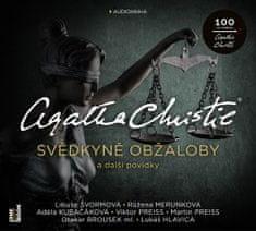 Christie Agatha: Svědkyně obžaloby a další povídky - MP3-CD