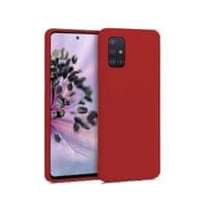 Goospery Soft Feeling ovitek za Samsung Galaxy A51 A515, silikonski, rdeč
