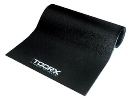 TOORX podloga za fitnes sprave, 120 x 80 cm crna