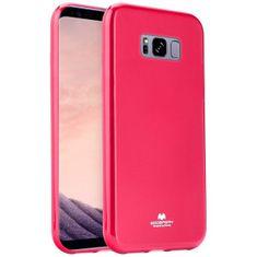 Goospery Jelly ovitek za Samsung Galaxy S8 Plus G955, silikonski, roza