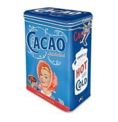 Postershop blaszane pudełko z klipsem - Cacao