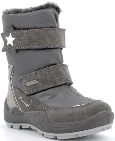 Primigi 6382600 dekliški zimski čevlji, sivi, 28