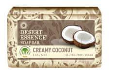 desert esence Tuhé mýdlo krémový kokos