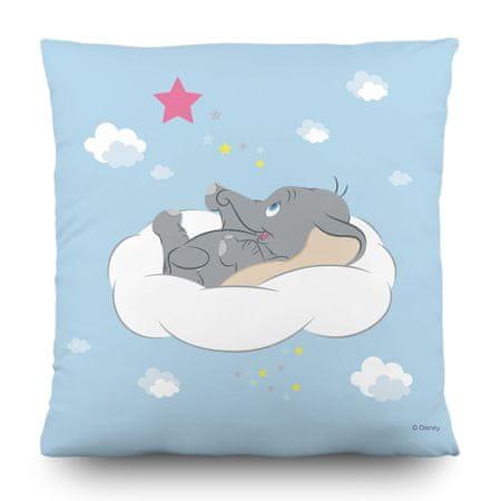 AG design Dumbó az álomfelhőn, dekorációs párna, 40 x 40 cm, gyerekszobába