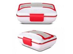 Alum online Ohřívací box na jídlo s kovovou nádobou a příborem 220V