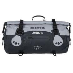 Oxford Aqua T-70 Roll Bag torba, siva/črna