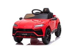 Beneo Elektrické autíčko Lamborghini Urus, 12V, 2,4 GHz dialkové ovládanie, USB / SD Vstup, odpruženie
