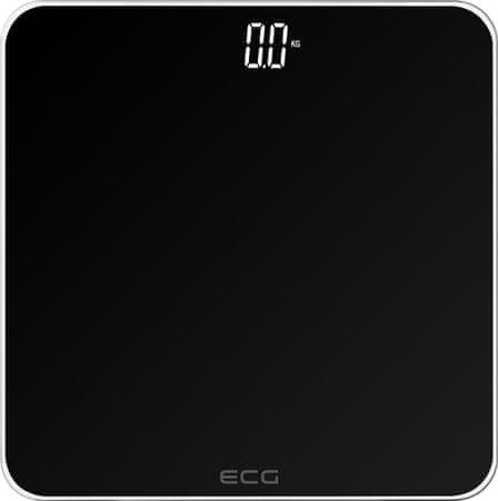 ECG OV 1821 Black osebna tehtnica, črna